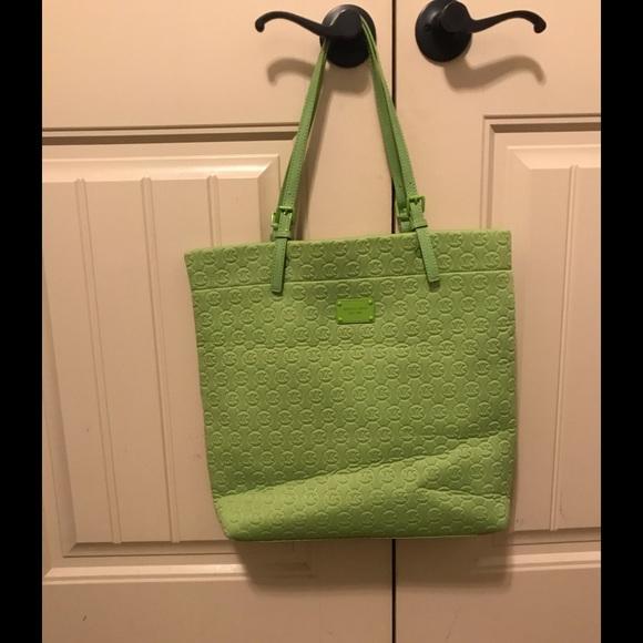 5037571aeb61 Michael Kors Bags | Sale Nwot Lime Green Mk Neoprene Tote | Poshmark